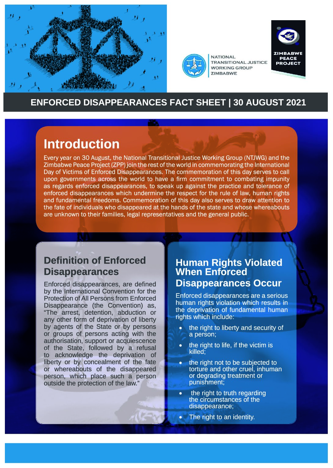 30 August Commemorative Factsheet]